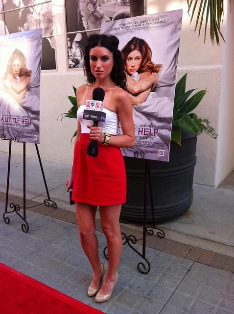 A LITTLE HELP Red Carpet Premiere, Sony Studios, Samantha Gutstadt