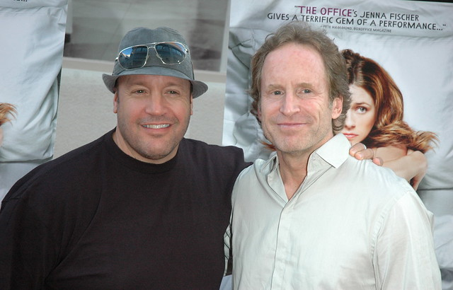 Kevin James , Michael J. Weithorn, A Little Help Premiere, Sony Studios Culver City