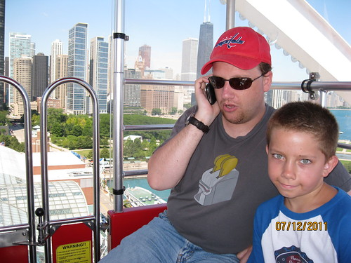 7/12/11: Ferris Wheel at Navy Pier, Chicago