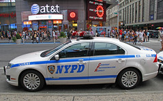 City Of New York Police Department - 2010 Ford Fusion Hybrid From Midtown North - Car # 5133 10 (ses7) Tags: new york city police department of