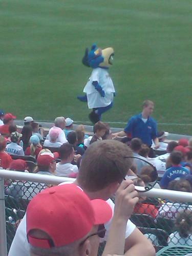 Trenton Thunder mascot