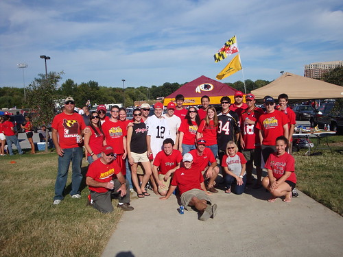 Terps tailgate