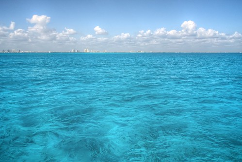Blue Waters of Cancun