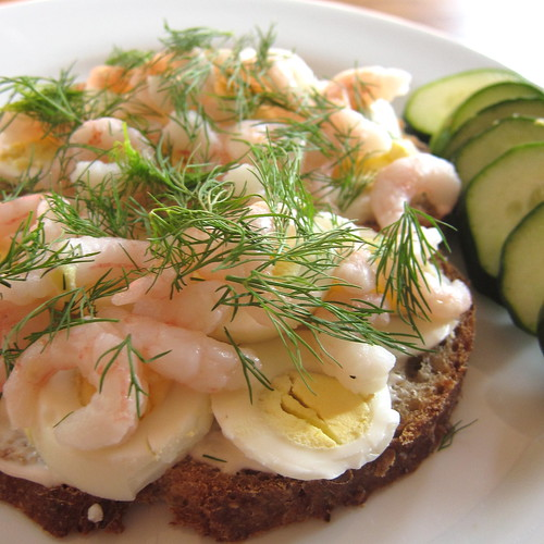 Swedish Shrimp Sandwich