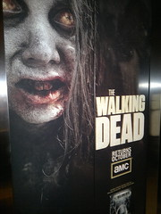 Walking Dead elevator #sdcc