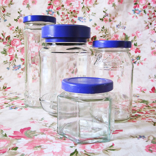 Pretty Glass Jars
