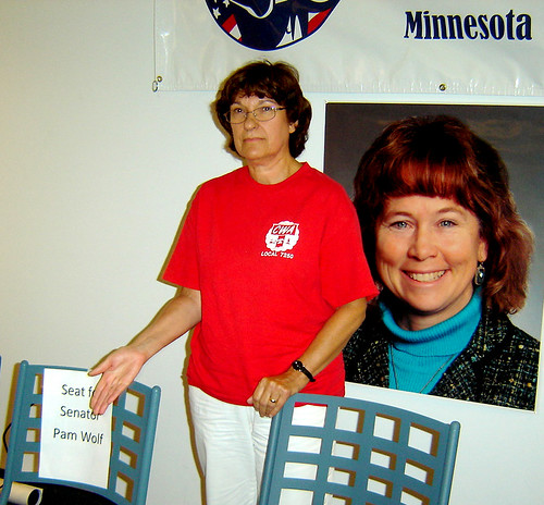 Seat for Pam Wolf - MN