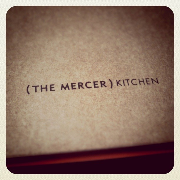 Mercer Kitchen SoHo