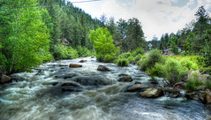 """Estes (Hi My Name is """"Parker"""") Tags: park trees wild west nature water river out outdoors movement colorado exposure doors angle wide boulder loveland boulders filter nd co estes density dense neutral greeley"""