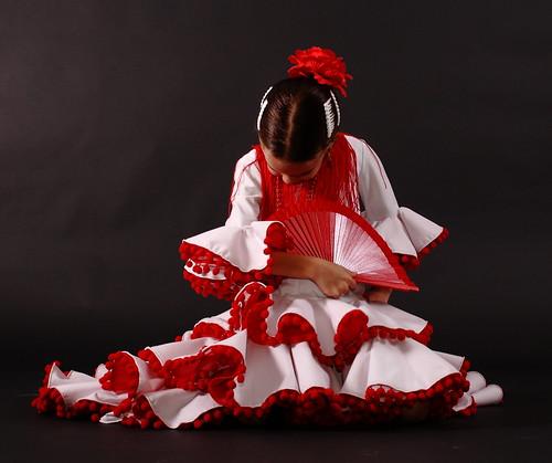 Una Flamenca en el estudio by Ezequiel Pallarés