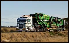 Membreys K108 bigcab... (quarterdeck888) Tags: trucks oversize kenworth wideload k108 membreys bigcab stretchcab worldtruck jerilderietrucks