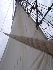 main sail (Luna Hana Hime) Tags: sailing ship main rope sail mast