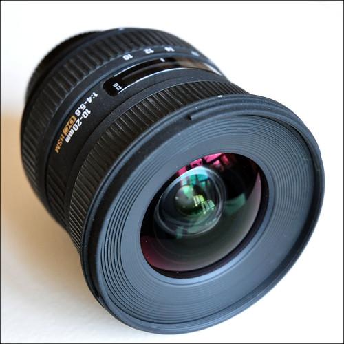 My Sigma 10-20mm 1:4-5.6DC HSM by George Rex, on Flickr