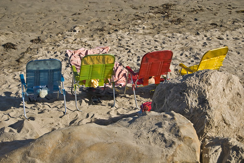 Beach Seating by Damian Gadal