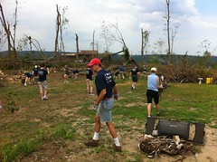 Monson Tornado Clean-up