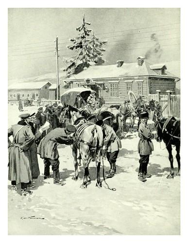 016-Casa de postas en los Urales- Provincial Russia-1913- F. de Haenen