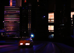 Sunset at Electri-City (Sibilus_Basilea) Tags: sunset sky car museum night schweiz switzerland hardware cityscape luzern line transportation electricity lucerne receiver elektrizitt verkehrshaus