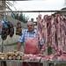 Venditori ambulanti di carne in Monteros Tucuman