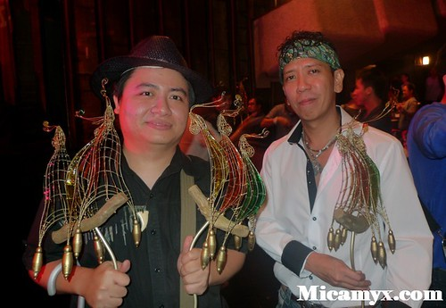 Diwa de Leon and Aureus Solito of Busong: Panalong-Panalo!