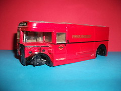 Nearside view of LT breakdown tender 1/50th scale. (Ledlon89) Tags: bus london transport lt londonbus solido scalemodels scaleddown servicevehicles aecregent ltsv breakdowntender modelbusesandcoaches