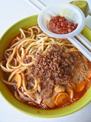 har mee, har meen, prawn mee, prawn noodle, hokkien mee,  restoran yong len, ttdi R0013270 copy