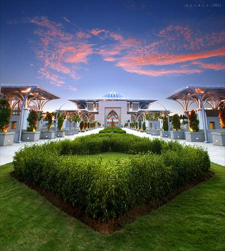 Sultan Mizan Zainal Abidin Mosque || .S.U.N.S.E.T.