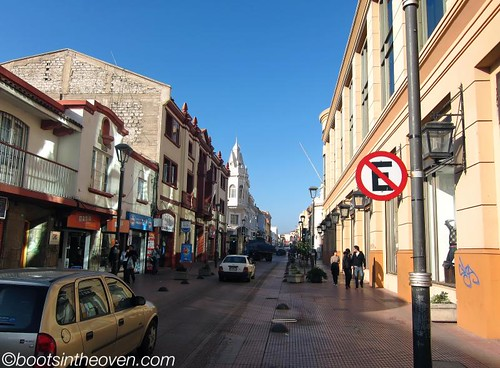 Sunny, walkable (but closed) La Serena