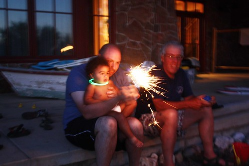 sparklers at BL