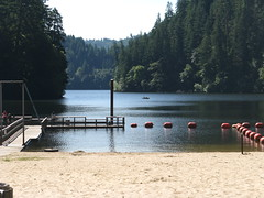 Loon Lake OR (LarrynJill) Tags: trees lake beach water oregon loonlake picnik
