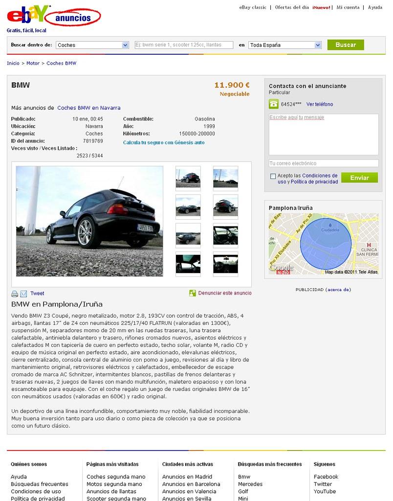 1999 Z3 Coupe | Jet Black | Black | eBay.es | eBay Spain