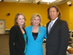 """Marie"" with US Representative Carolyn Maloney and ""Berlin Turnpike"" author, Raymond Bechard (The Berlin Turnpike) Tags: carolynmaloney humantrafficking raymondbechard berlinturnpikehumantraffickingcarolynmaloneyraymondbechardberlinturnpike"