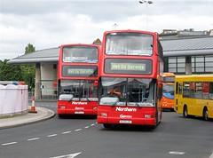 Go North East 6036 (V336LGC) & 6033 (V233LGC) (peter_b2008) Tags: buses volvo president transport coaches sunderland gonortheast plaxton londoncentral 6036 6033 b7tl buspictures goaheadgroup v336lgc v223lgc