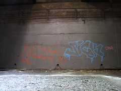 Wane Jick (soulroach) Tags: nyc ny newyork underground graffiti freedom tunnel cod jick tc5 wane imok freedomtunnel