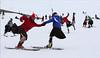 kilted-skiing2 (photo by Andrew Smith) (kilt4142) Tags: scotland kilt wind bare scottish windy highland scot swinging kilts skier scots tartan kilted scotsman upkilt