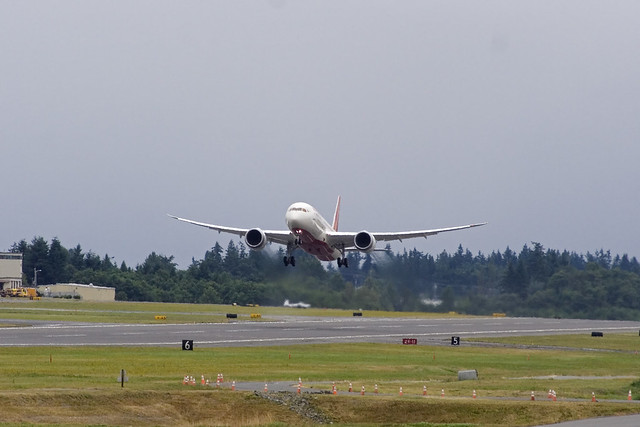 Air India Lifts off