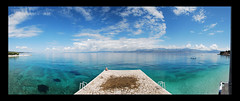 Supetar (TYLERS11) Tags: blue sea sky panorama color nature clouds photoshop cool nikon meer croatia tyler supetar tylerdurden kroatien d80 nikond80 colorphotoaward tylers11