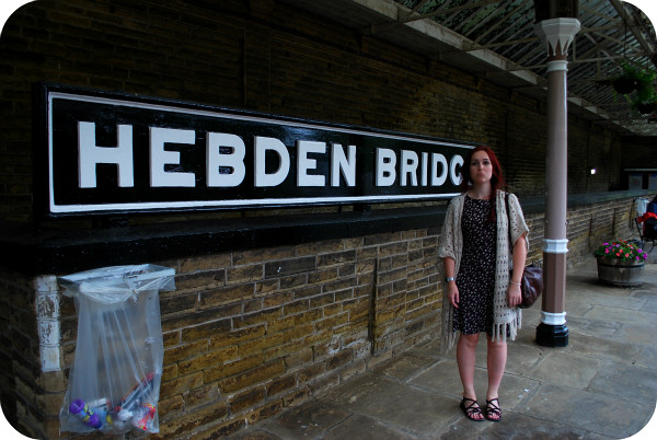 Sad to leave Hebden Bridge