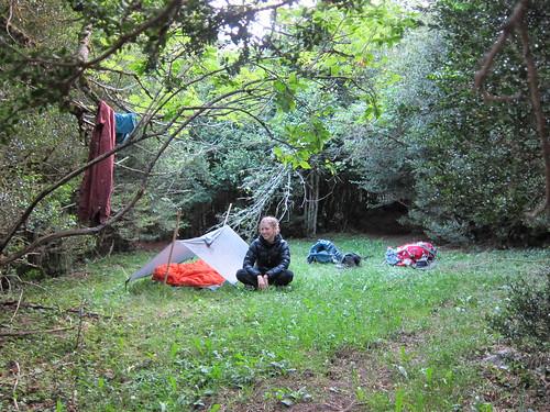 Camping in Spain by Danalynn C