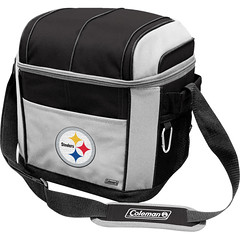Pittsburgh Steelers Coleman 24 Pack/Can Cooler Bag