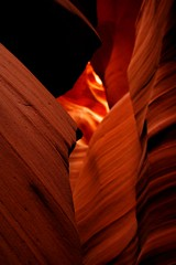Antelope Canyon (jacques legentil) Tags: arizona usa sun america parks nationalparks sunbeam antelopecanyon