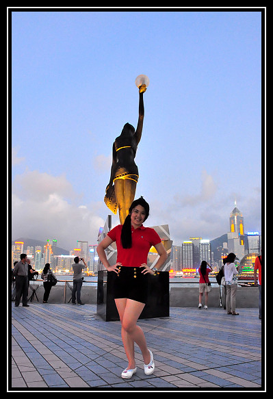 Hong Kong Trip Day 6: Avenue of Stars (新光大道) and  Victoria Harbour (維多利亞港)