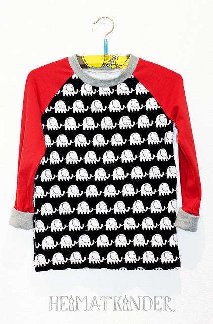 HeimatKinder elephant shirt