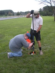 Setting Survey Marker 2011
