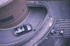 From Above (aermiks) Tags: men car nikon parkinglot parking fromabove depression fm10 carpark sittingonstairs