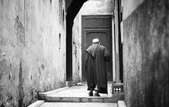 old medina (dstaszowski) Tags: street people blackandwhite kids landscape nikon women candid streetphotography mosque morocco fez marrakech medina casablanca reportage hassanmosque