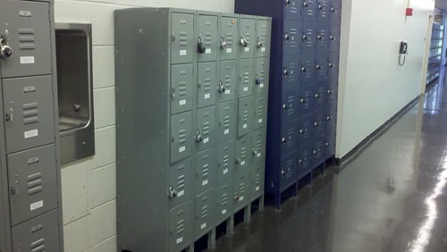 Lockers Greenwich St NYC by Gale's Industrial Supply