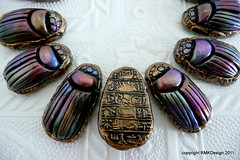 And the flip side; (ketztx4me) Tags: bronze tx m clay egyptian revival polymer art  ketzel austin fauxjade polymer jewelry randee ketzel clay polymerclayfauxtechniques fauxtiffanyfavrileglass