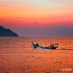 Penang Island (Ed Kruger) Tags: ocean blue sunset sea summer sky people sun holiday seascape reflection water clouds landscape island grey boat fishing asia southeastasia waves asians horizon wave sunny malaysia penang fishingboat allrightsreserved admiralty penangisland skyphoto princeofwalesisland travelasia  peopleofasia pulaupinang asiancities earthasia edkruger asiancountries photoofocean cultureofasia photosofasia abaconda qfse freephotodownload photosofthesky