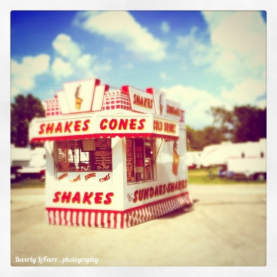 Shakes and cones