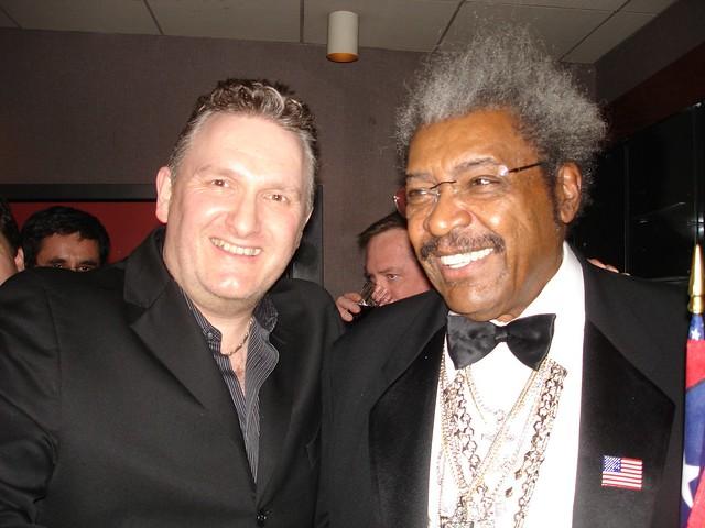 Jim Munro with Don King